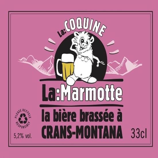 La Marmotte bière La Coquine